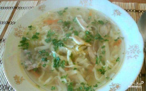 Суп из фазана