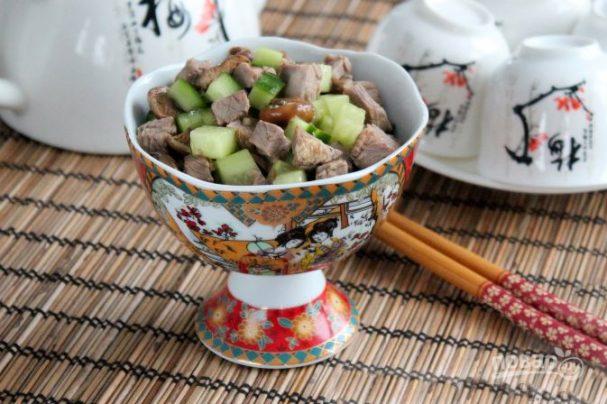 "Салат ""Шаньдун"" с говядиной"