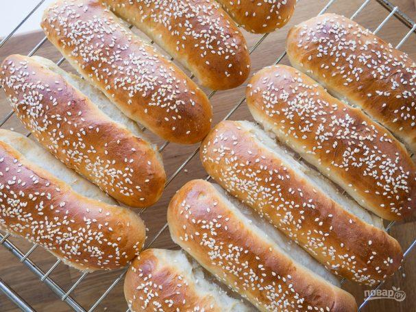 Домашние булочки для хот-догов