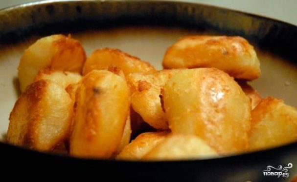 Картошка кусочками в духовке