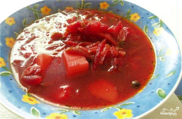 как сделать свекольный суп