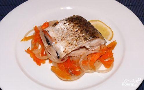 рецепты запекания рыбы кусочками фото