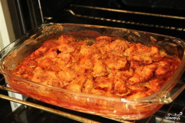 Курица, маринованная в сметане