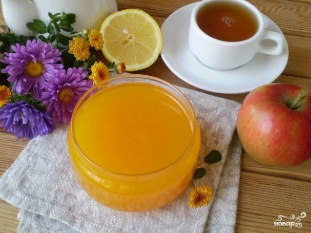 рецепт тыквы с лимоном