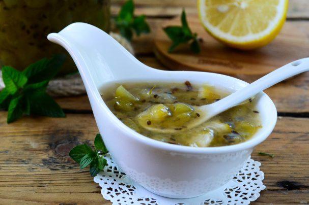 Варенье из крыжовника с лимоном на зиму