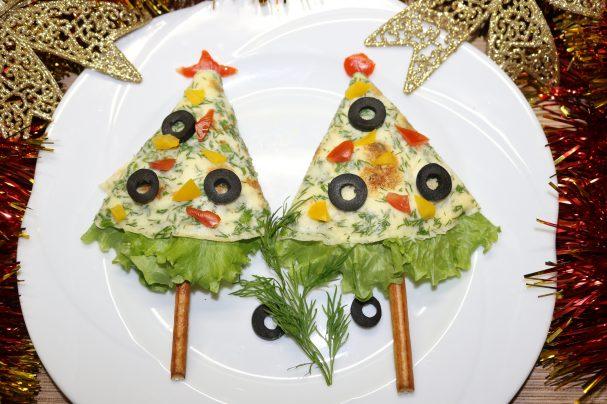 "Новогодняя закуска ""Ёлка"""