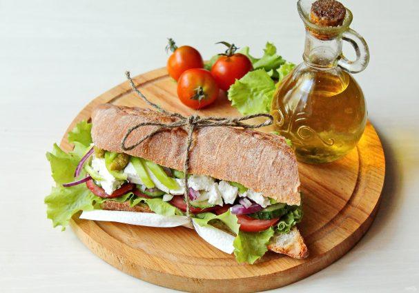 Греческий сэндвич
