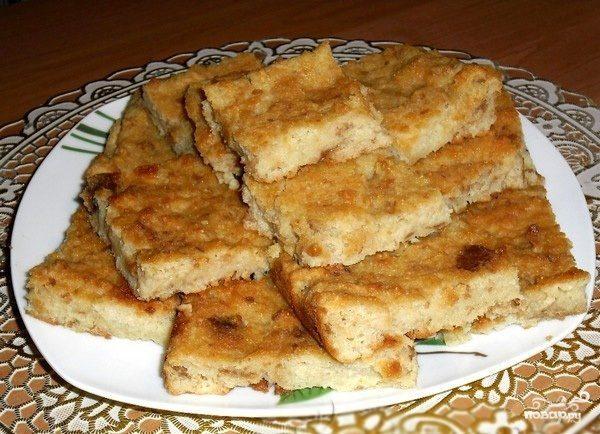 Запеканка из черствого хлеба