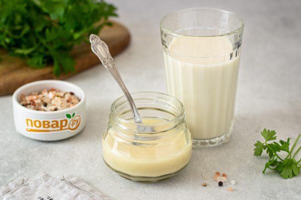 Майонез из овсяного молока