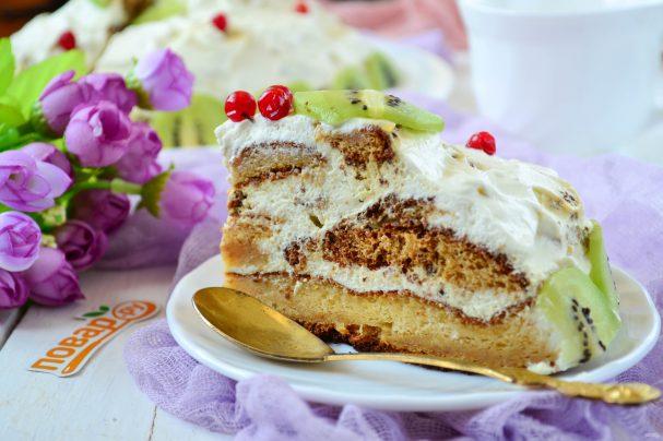 Торт на фруктозе