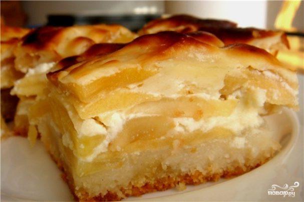 Яблочный кекс в хлебопечке