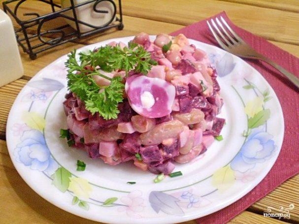 Салат к пельменям