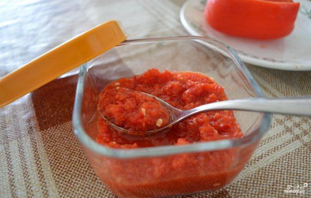 кулинарные рецепты заготовки на зиму аджика с хреном