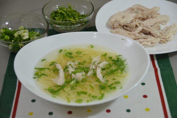 Суп с лапшой по-татарски