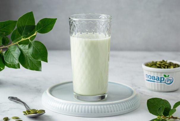 Молоко из тыквенных семечек