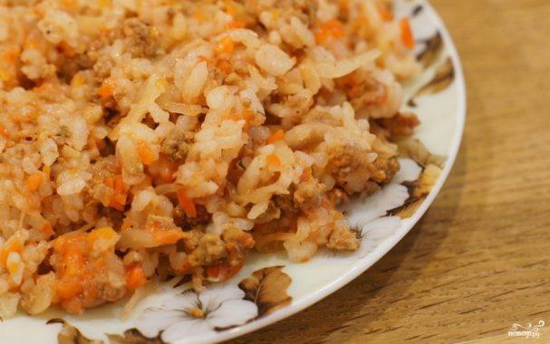 рис и фарш рецепты