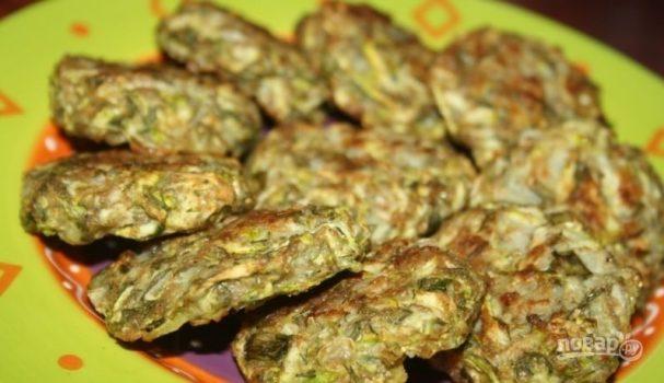 Оладушки из кабачков в духовке