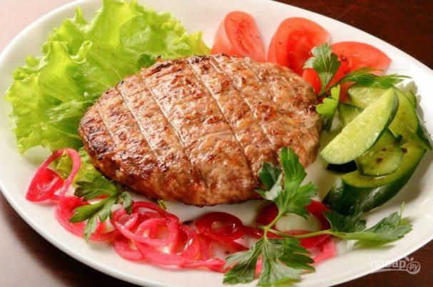 Бифштекс рубленый (говядина)