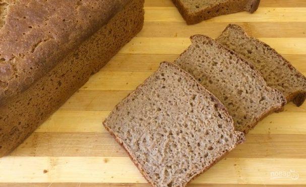 Амарантово-ржаной хлеб
