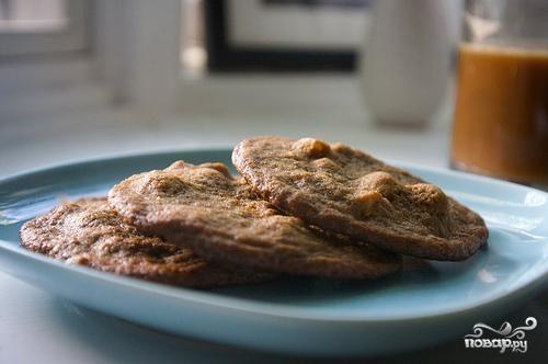 Печенье с фундуком и эспрессо