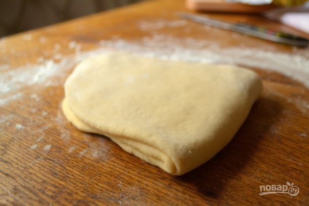 Слоеное тесто на кефире