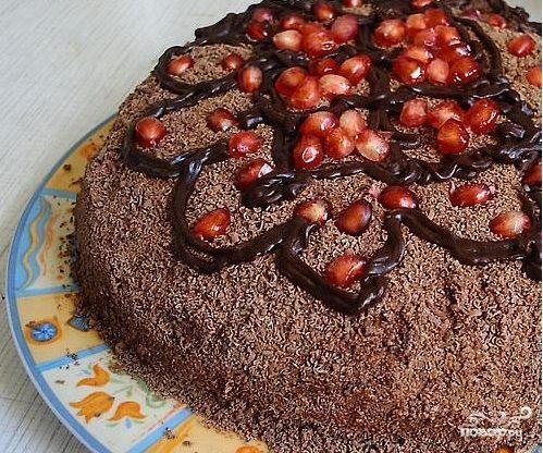 Торт с маком и сметанным кремом
