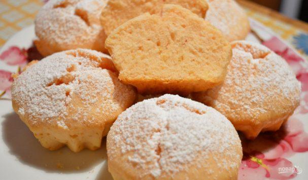 Кексы на сухом киселе за 30 минут