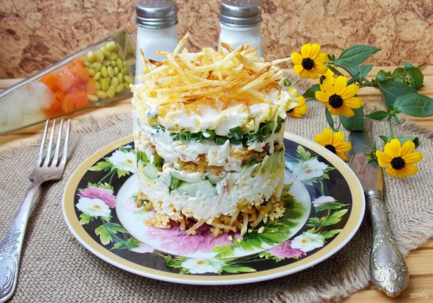 рецепты салаты с картошкой
