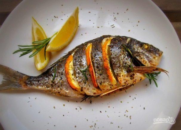 Рыба дорада в духовке