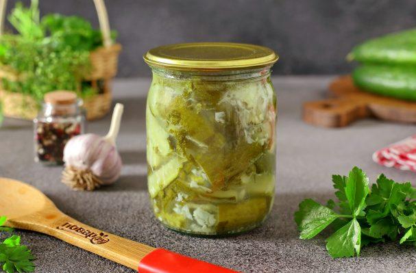 Салат из огурцов с чесноком на зиму
