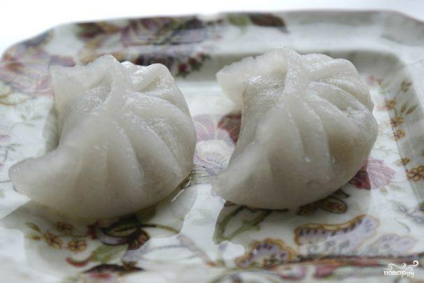 Тесто для китайских пельменей