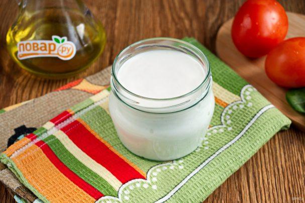 Домашний майонез на молоке