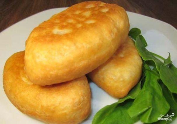 Пирожки со щавелем на кефире