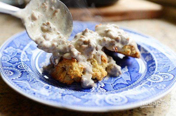 Песочное печенье с подливой
