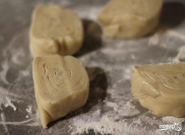 Слоеное тесто для самсы