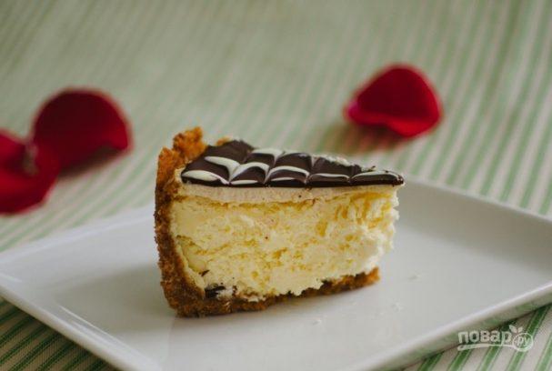Классический чизкейк с шоколадом