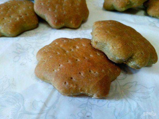 Ягодное печенье из затяжного теста