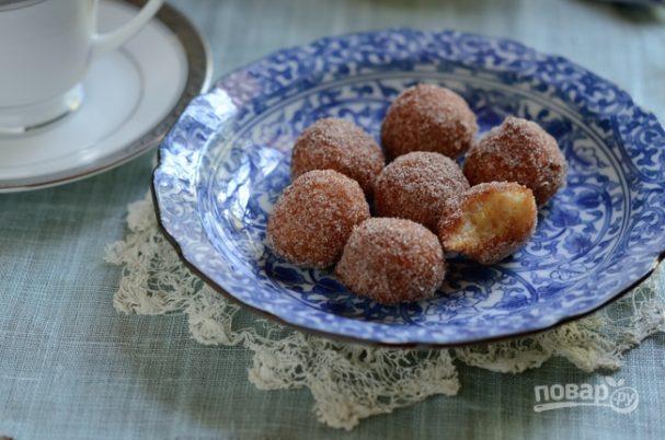 Тыквенно-рисовые пончики