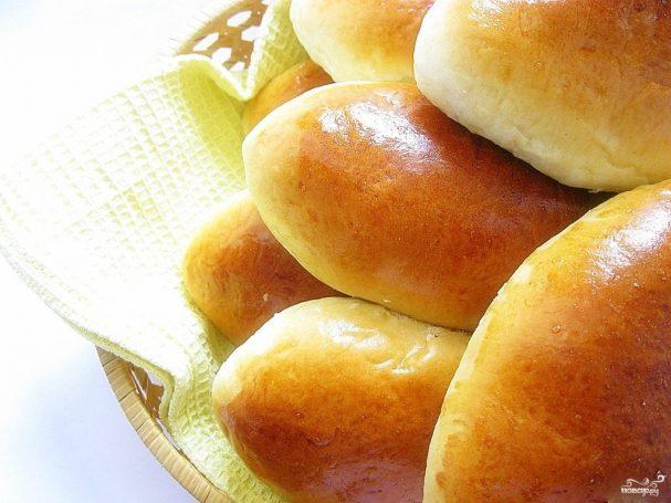Пирожки с картошкой и жареным луком