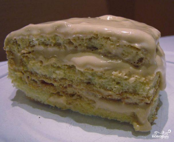 Крем для торта из сгущенки и сметаны