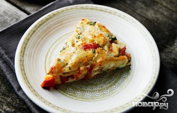 Лепешки с овощами и сыром Фета