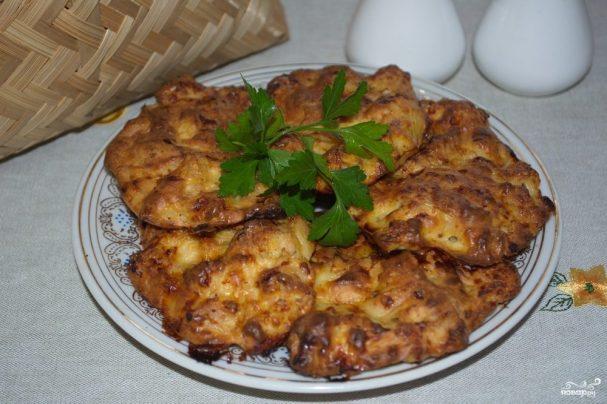 Мясо по-албански в духовке