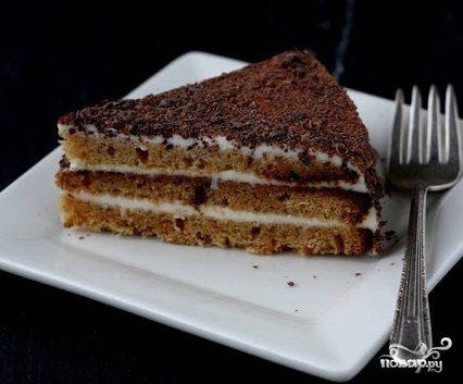 Торт на сметане