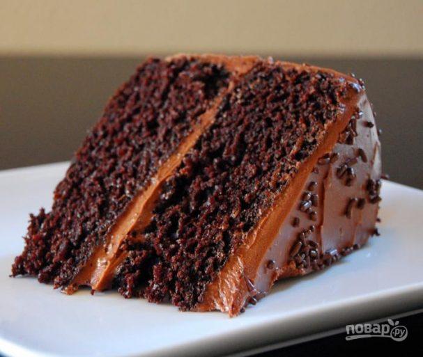 шоколадный торт рецепт с фото простой рецепт