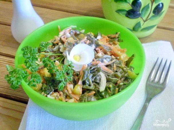 Салат к запеченной рыбе