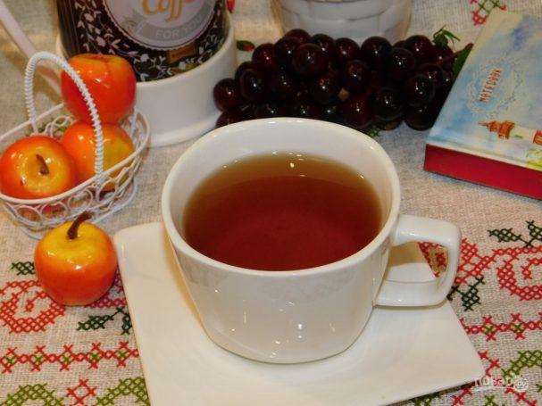 Яблочный чай с корицей