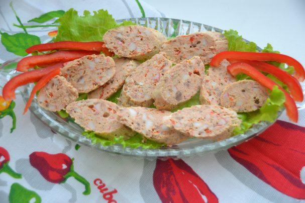Рыбная колбаса