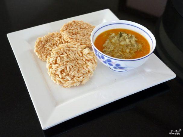 Рис воздушный в карамели