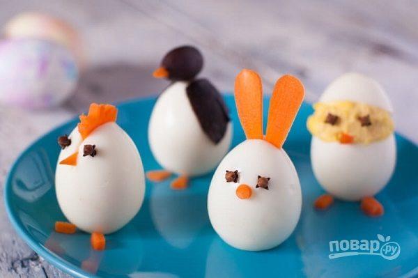 Пасхальные яйца для праздничного стола