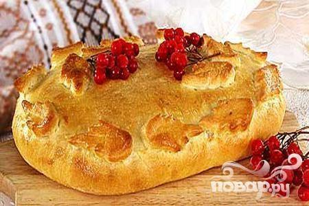 Пирог с калиной